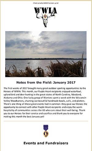 January 2017 Newsletter