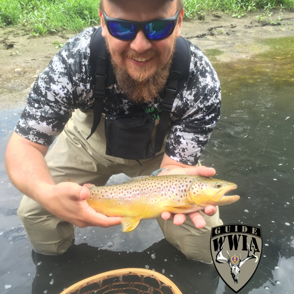 Wounded warriors in action foundation team bios archive for Spring warrior fish camp