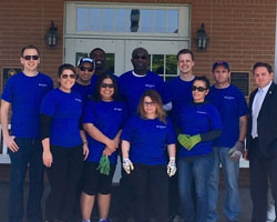 Combined Insurance Continues its Commitment to Giving Back to Military Community at Hines Fisher House